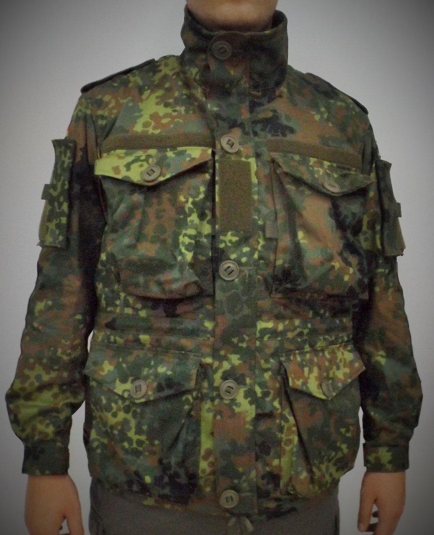 BW Einsatzkampfjacke kurz flecktarn